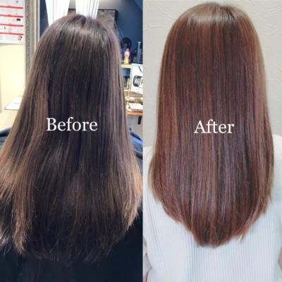 髪質改善で艶髪になれます!