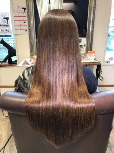 髪の毛の艶を出す定義